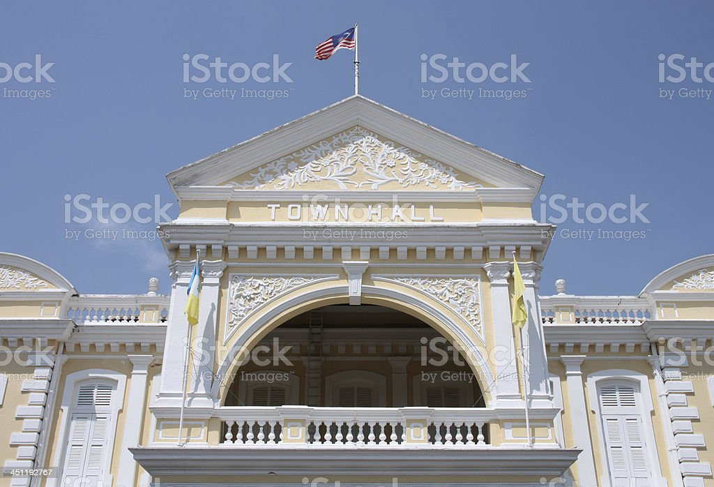 Georgetown royalty-free stock photo