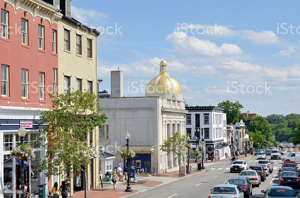 Georgetown stock photo