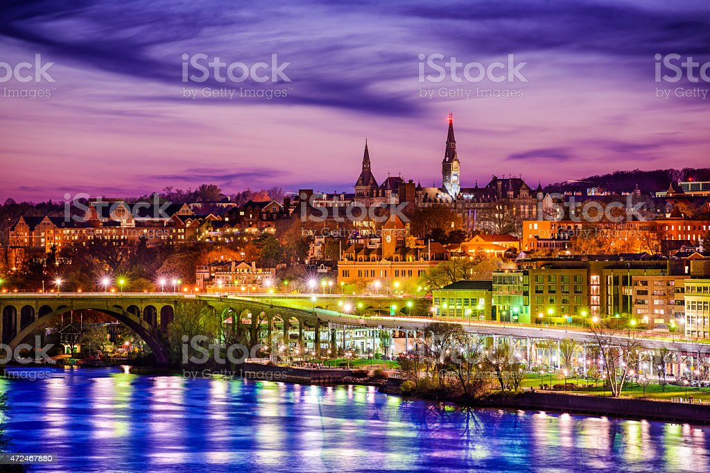 Georgetown Skyline stock photo