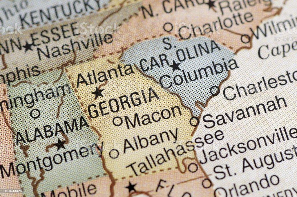 Georgia stock photo
