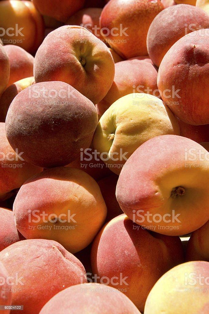 Georgia Sweet Peaches royalty-free stock photo