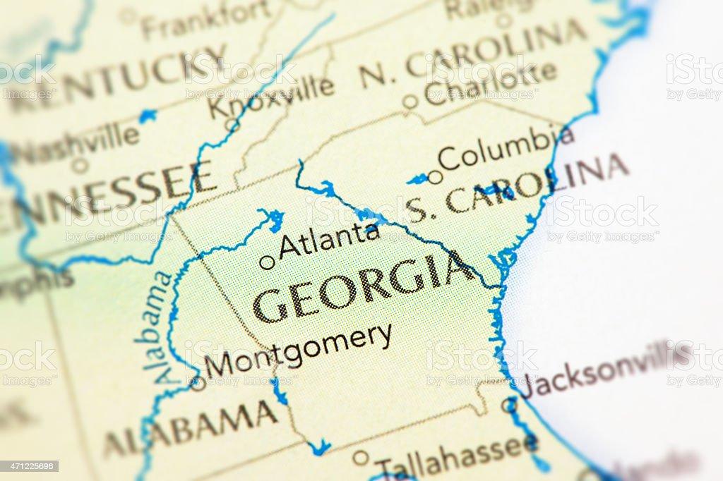 Georgia USA stock photo