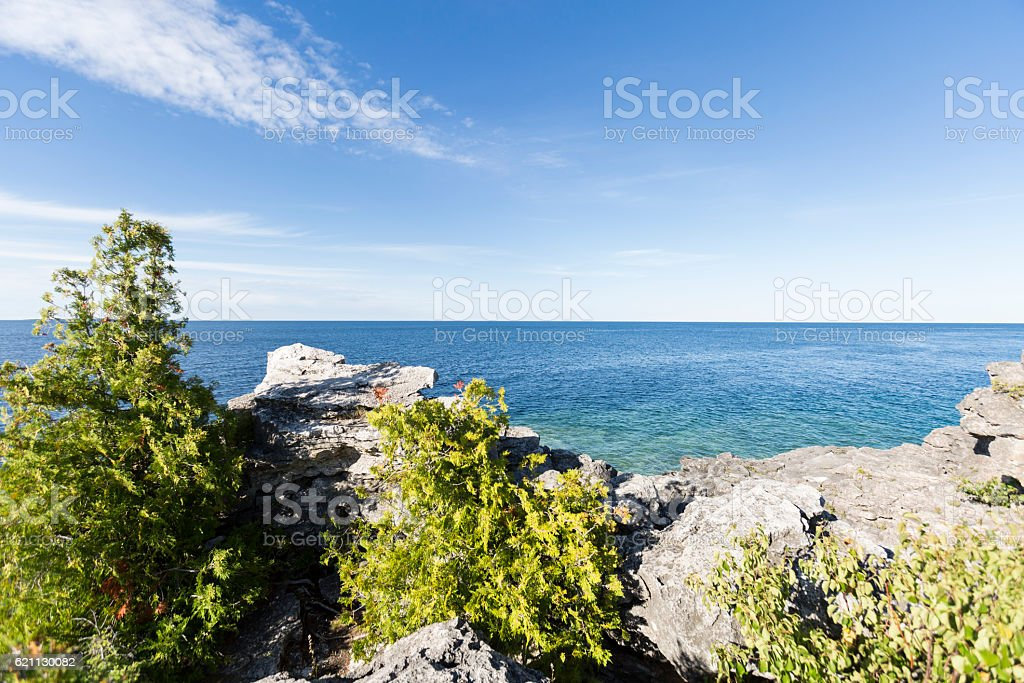 Georgian Bay stock photo