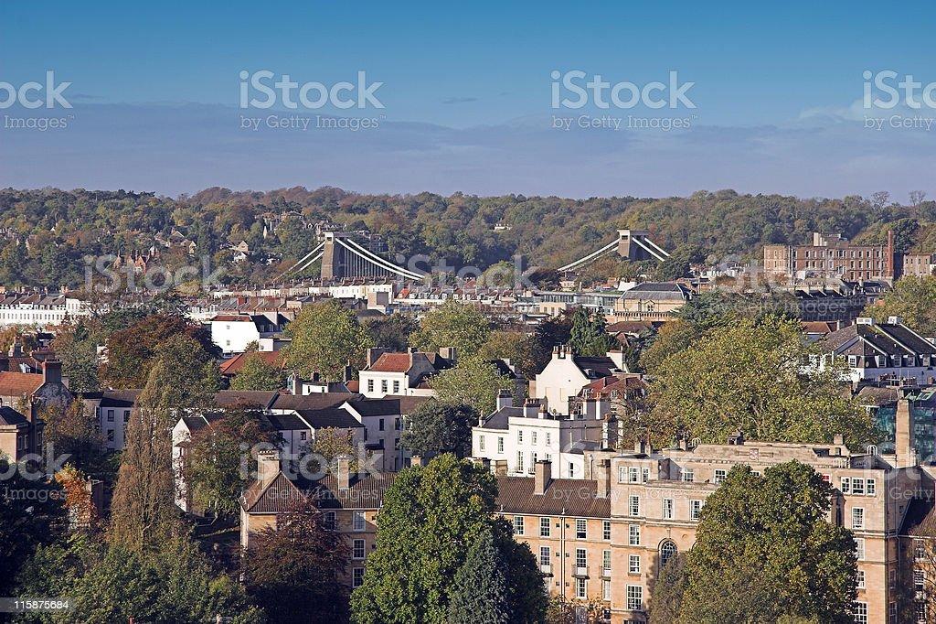 Georgian Bristol stock photo