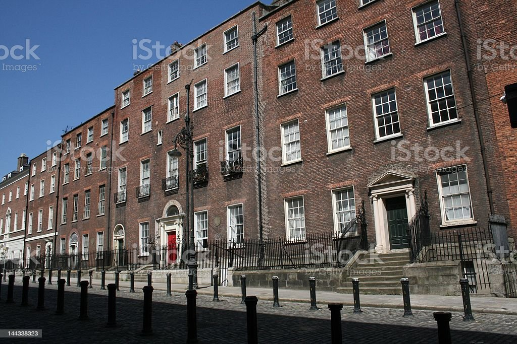 Georgian Dublin stock photo