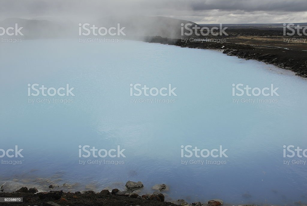 Geotermy at Myvatn royalty-free stock photo