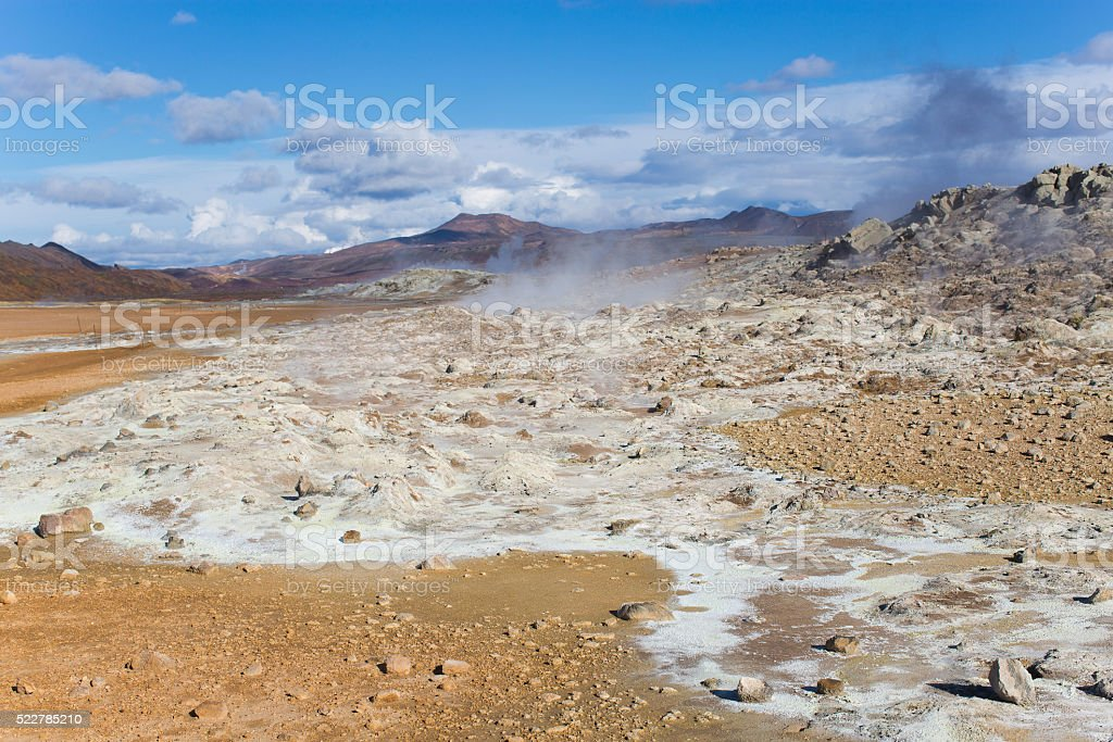 Geothermal Area stock photo