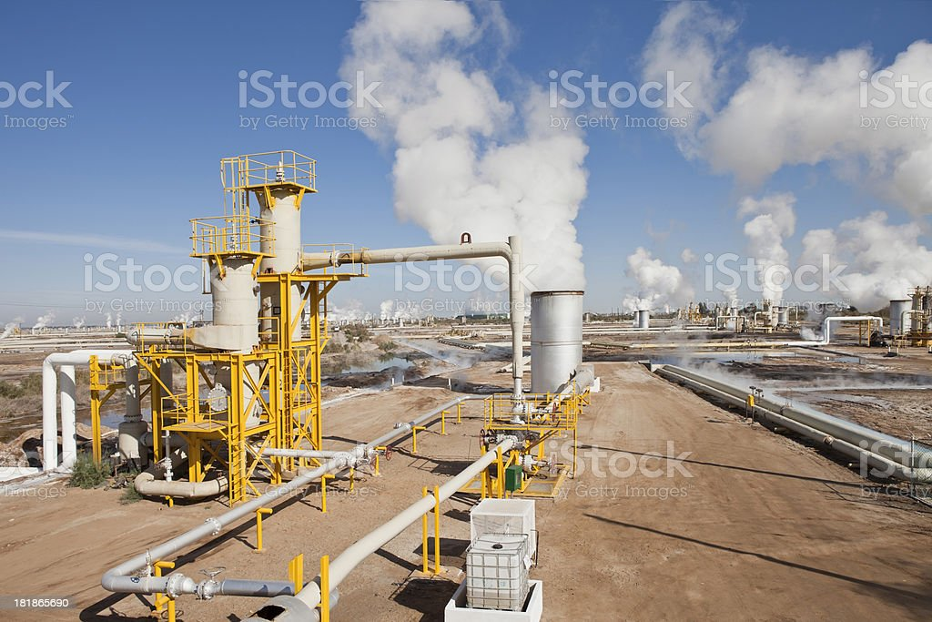 Geothermal Energy stock photo