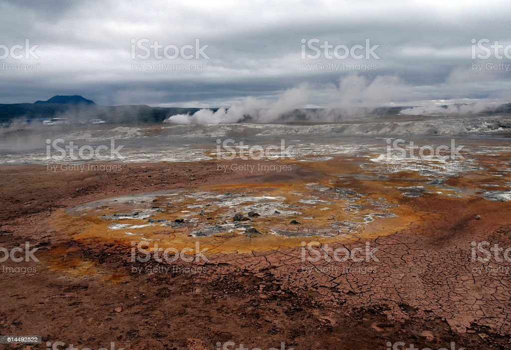 Geothermal Iceland stock photo