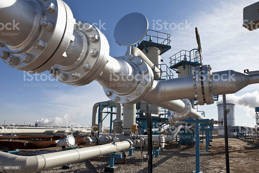 Geothermal Power stock photo