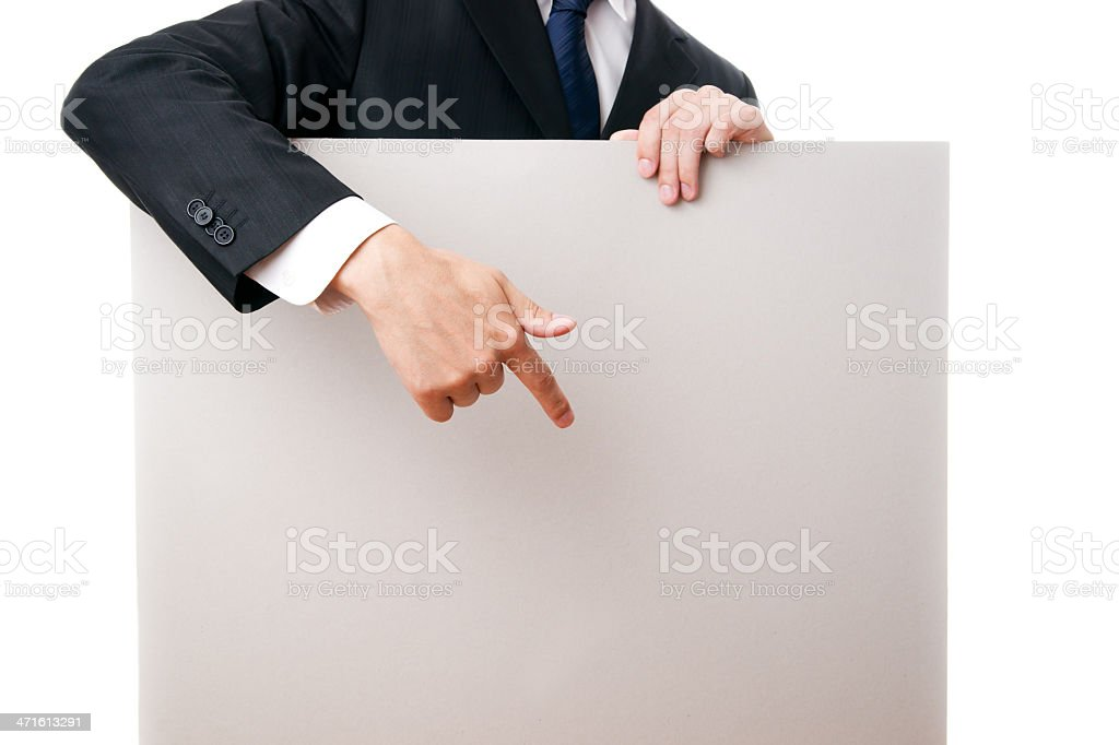 ?ard blank royalty-free stock photo