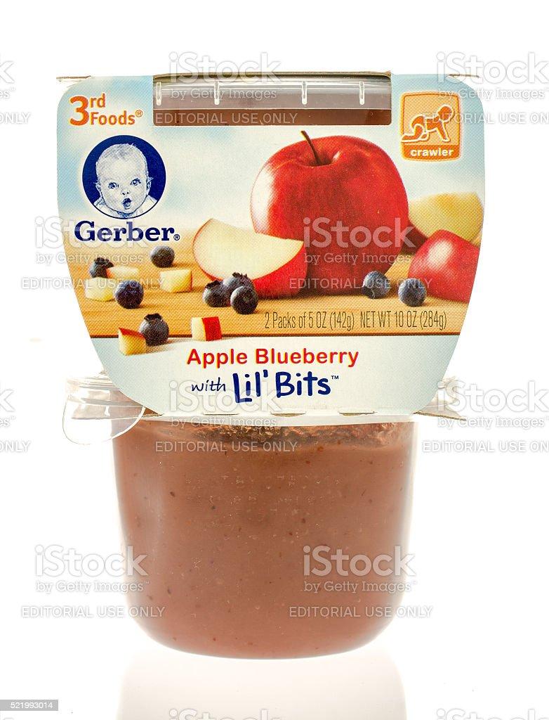 Gerber Baby Food stock photo