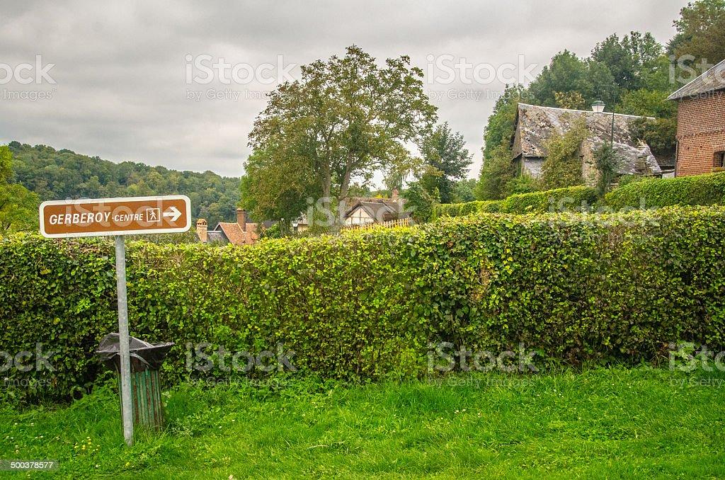 Gerberoy, France royalty-free stock photo