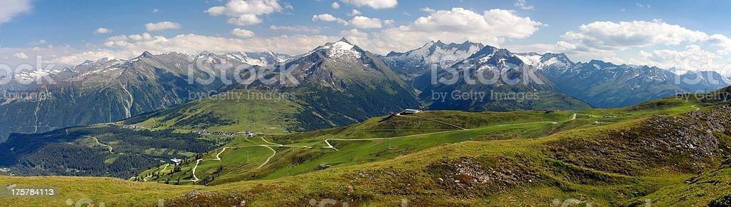 gerlospass - Hohe Tauern and Zillertaler Alpen stock photo