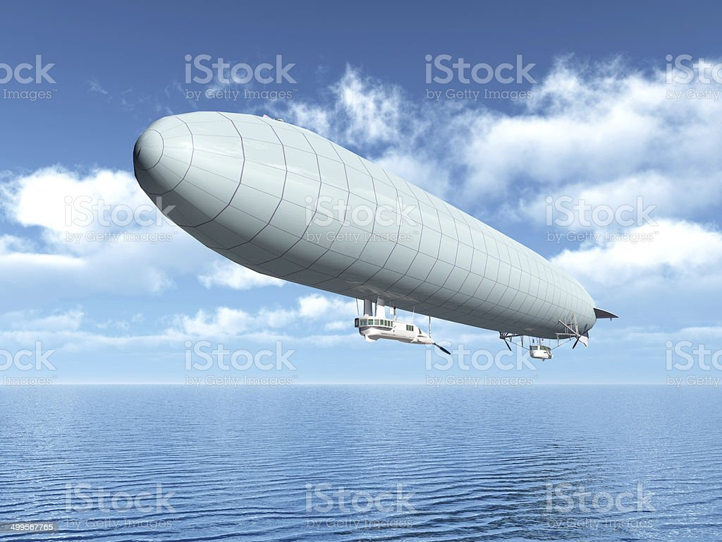 German Airship stock photo