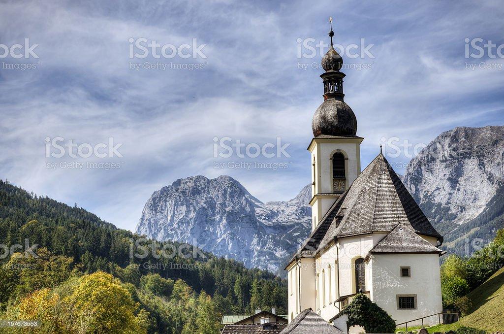 German Alps stock photo