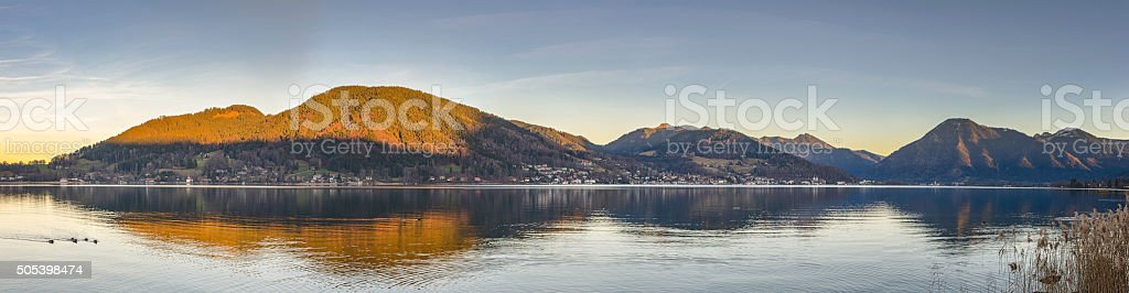German Alps stock photo