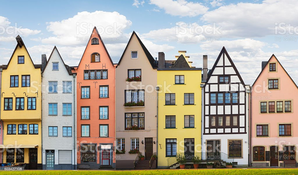 German Architecture in Cologne stock photo
