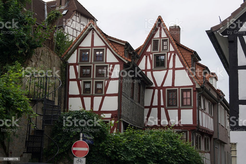 German architecture stock photo