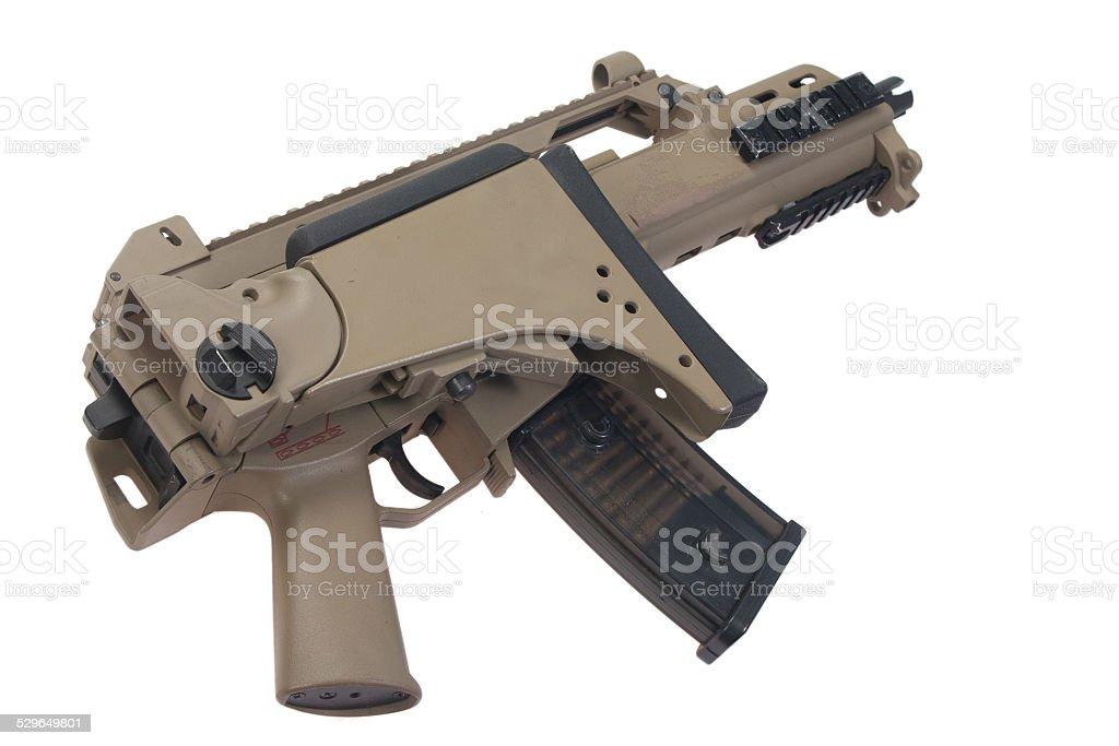 German army assault rifle G36. stock photo