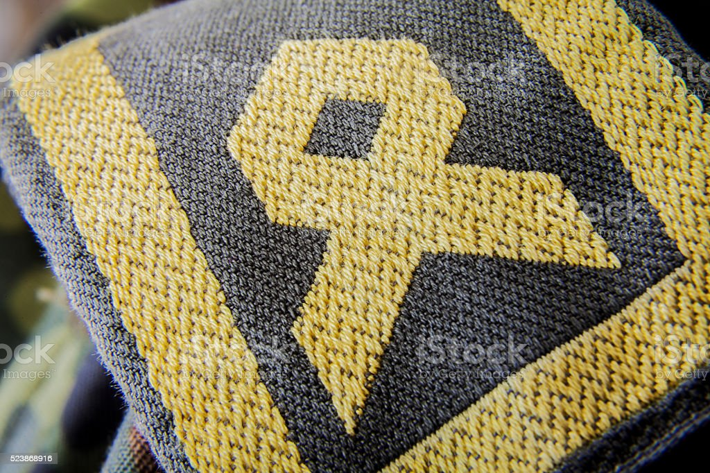 german army hauptbootsmann chief petty officer badge stock photo