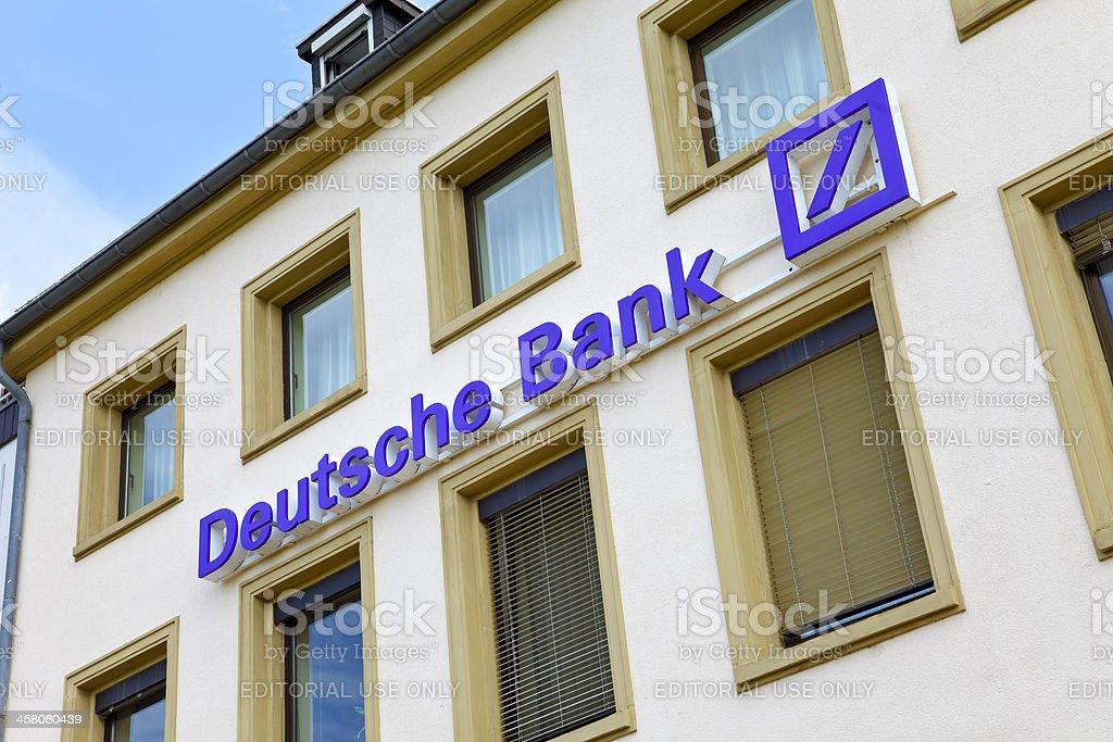 German Bank stock photo