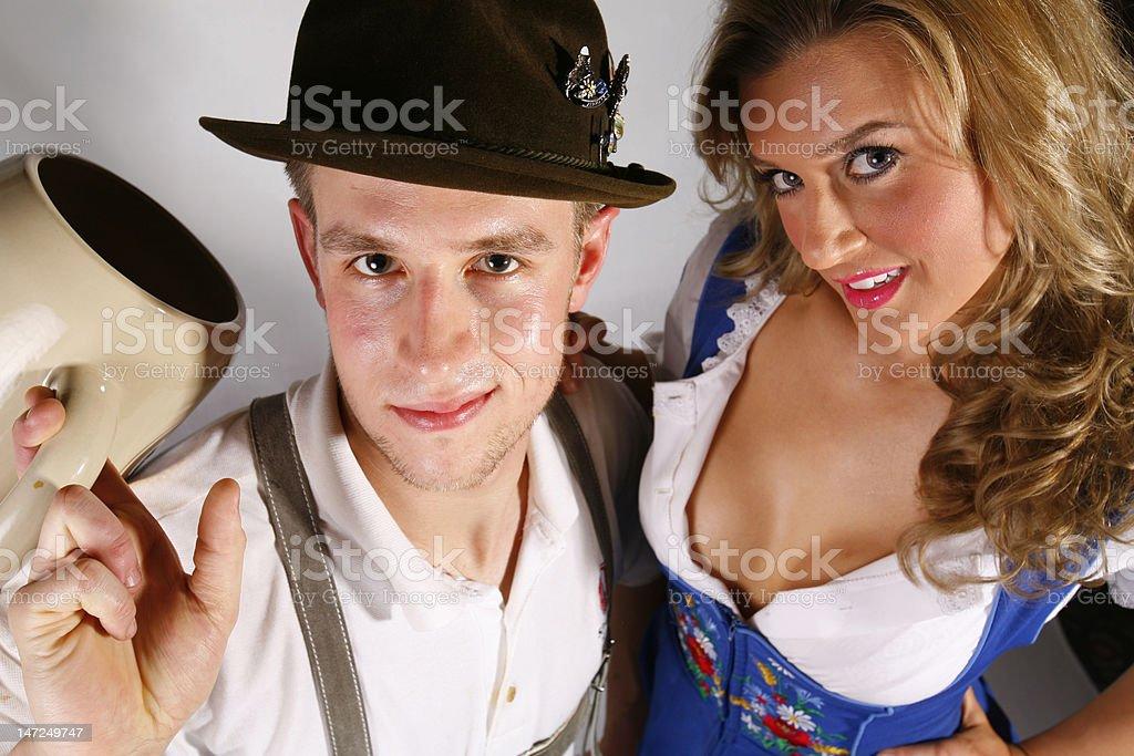 German Beauties royalty-free stock photo