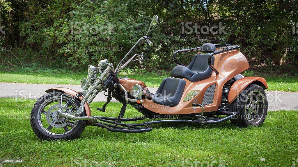 German BOOM trike stock photo