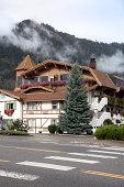 German Buildings in Leavenworth, Washington