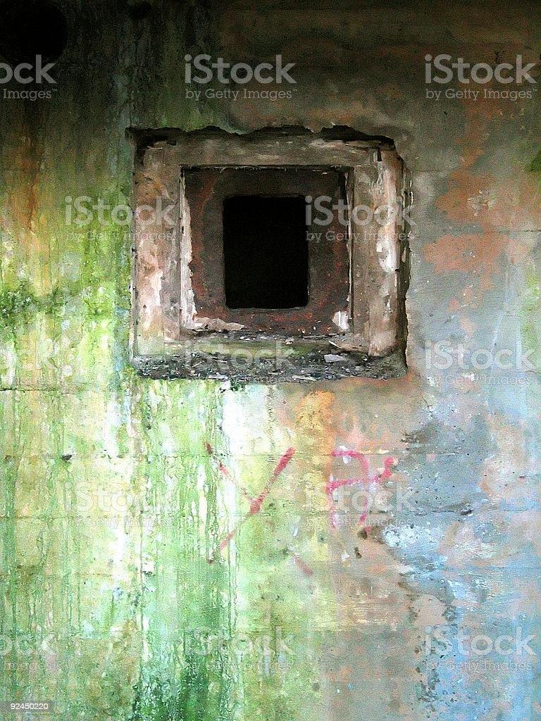 German Bunker royalty-free stock photo