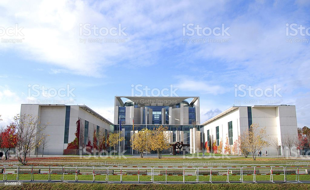 german chancellorship in berlin stock photo