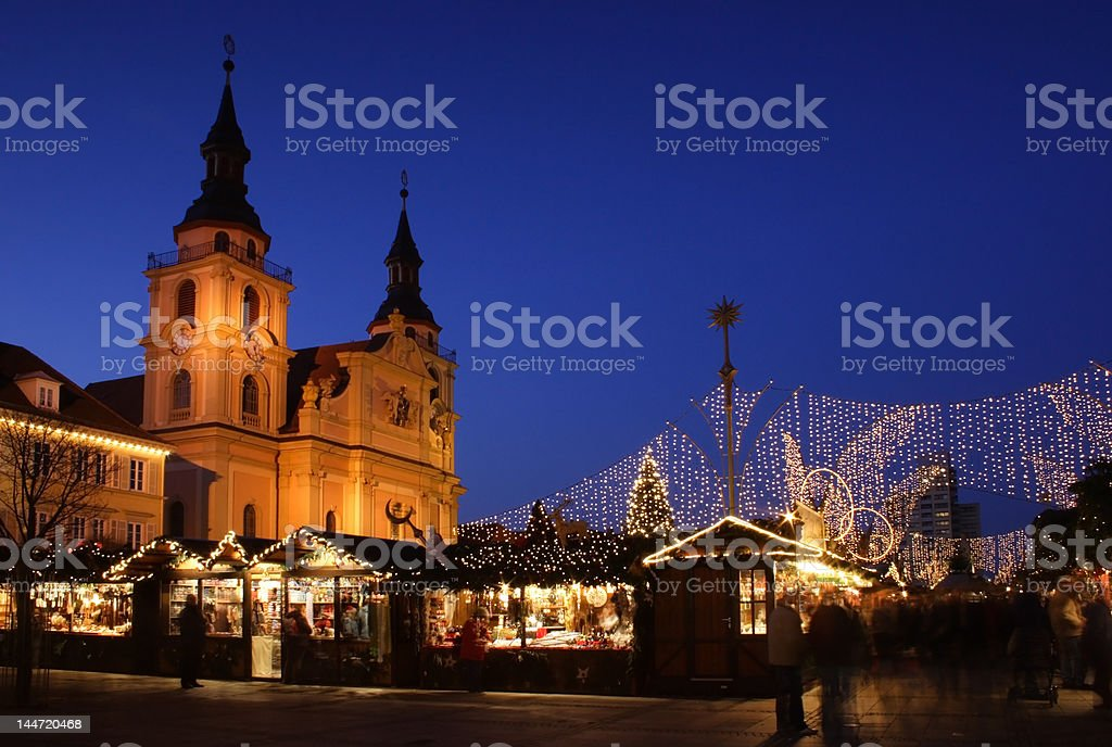German christmas market royalty-free stock photo