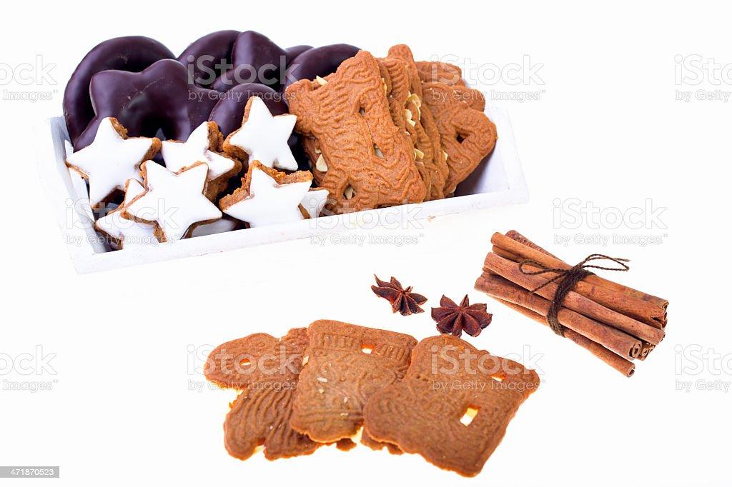 German Christmas pastry stock photo