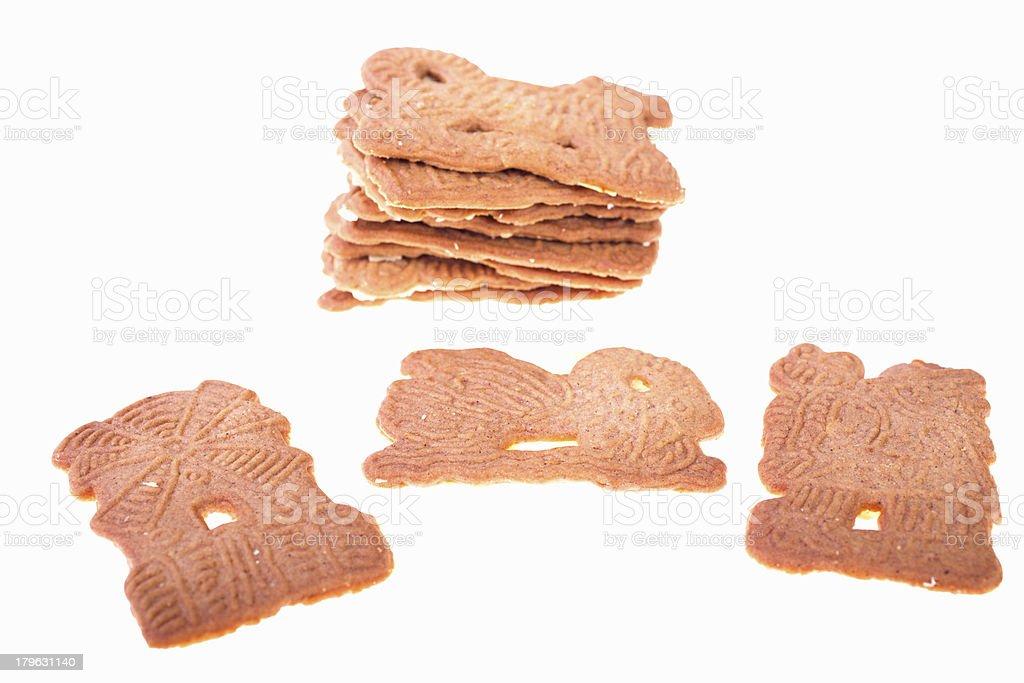 German Christmas pastry - Spekulatius stock photo