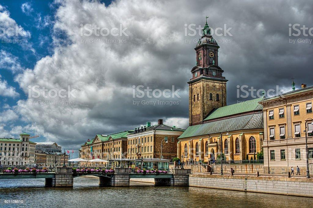 German Church in Gothenburg HDR stock photo