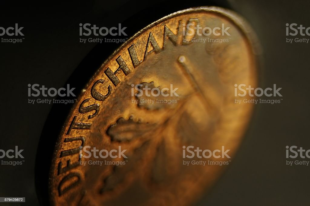German Coin stock photo