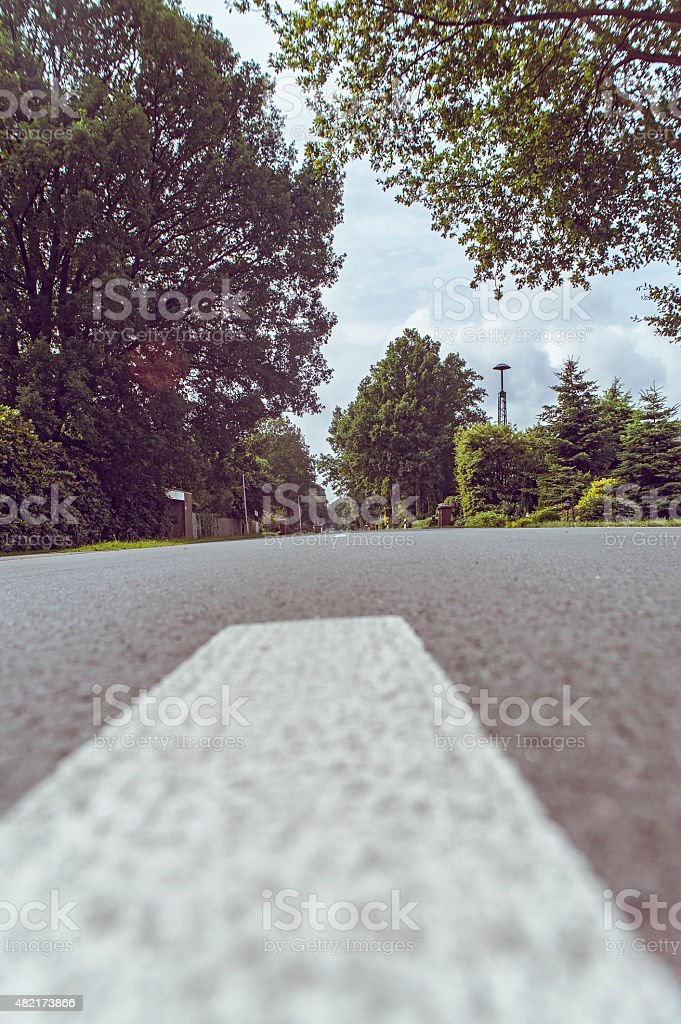 German country road stock photo