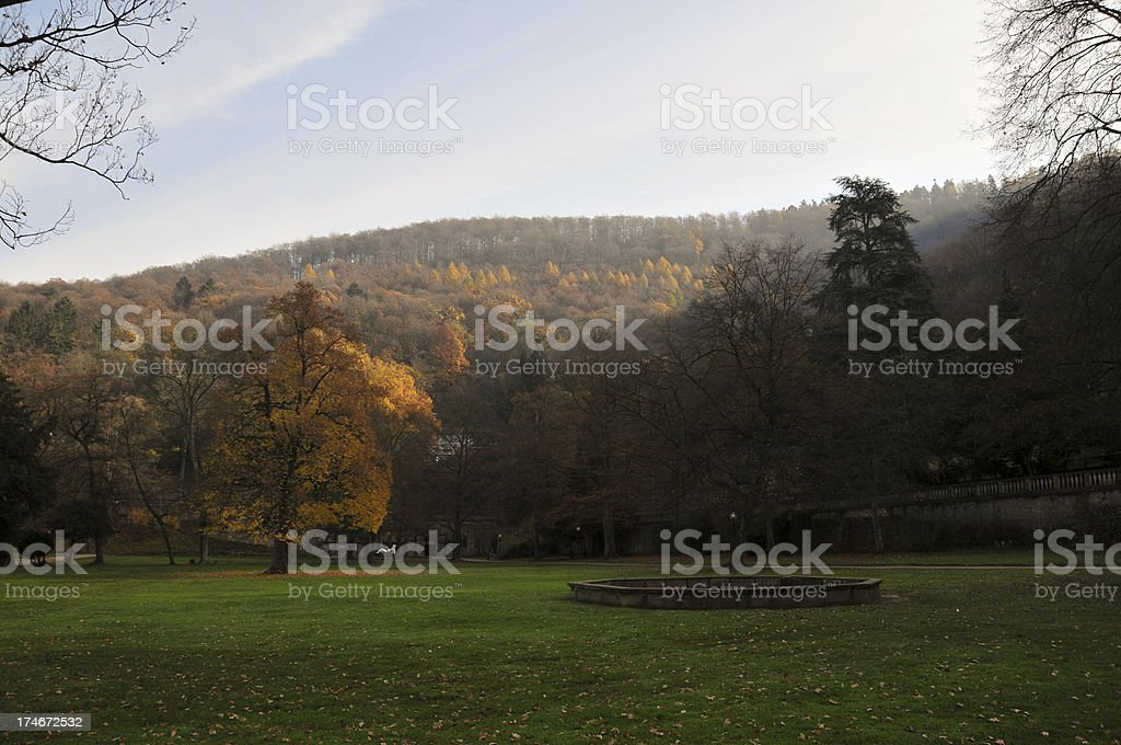 German Countryside stock photo