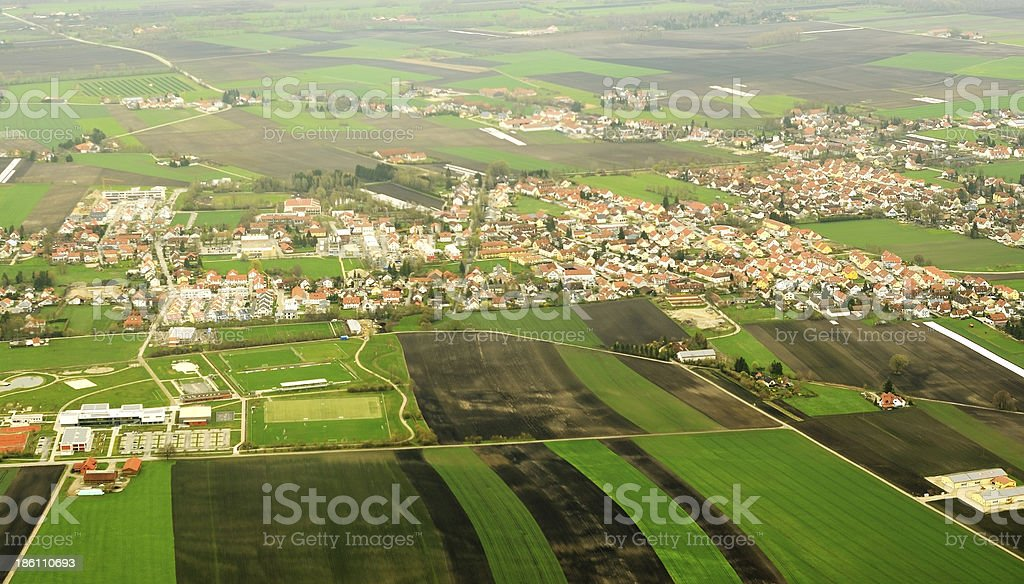 German countryside royalty-free stock photo