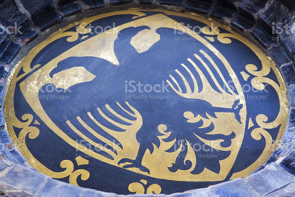 German Eagle Emblem stock photo