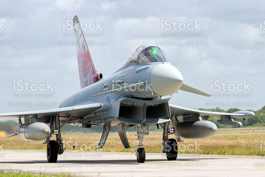 German Eurofighter stock photo