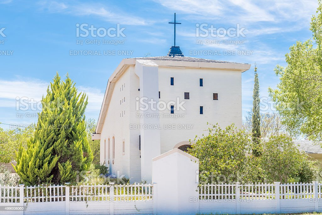 German Evangelical Lutheran Church stock photo
