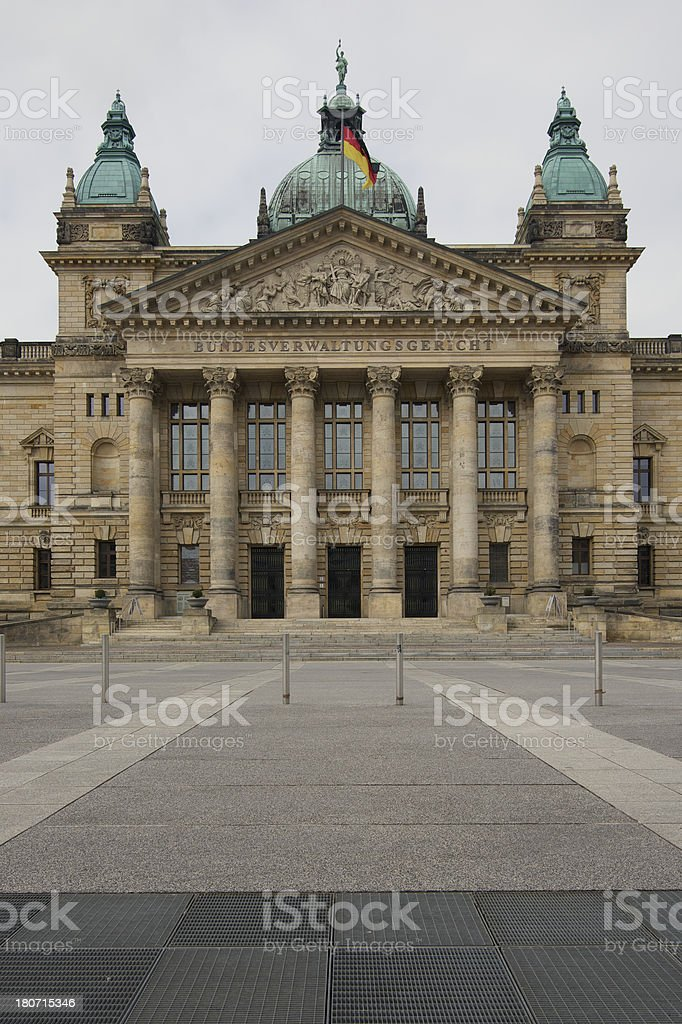 German Federal Administrative Law Court royalty-free stock photo