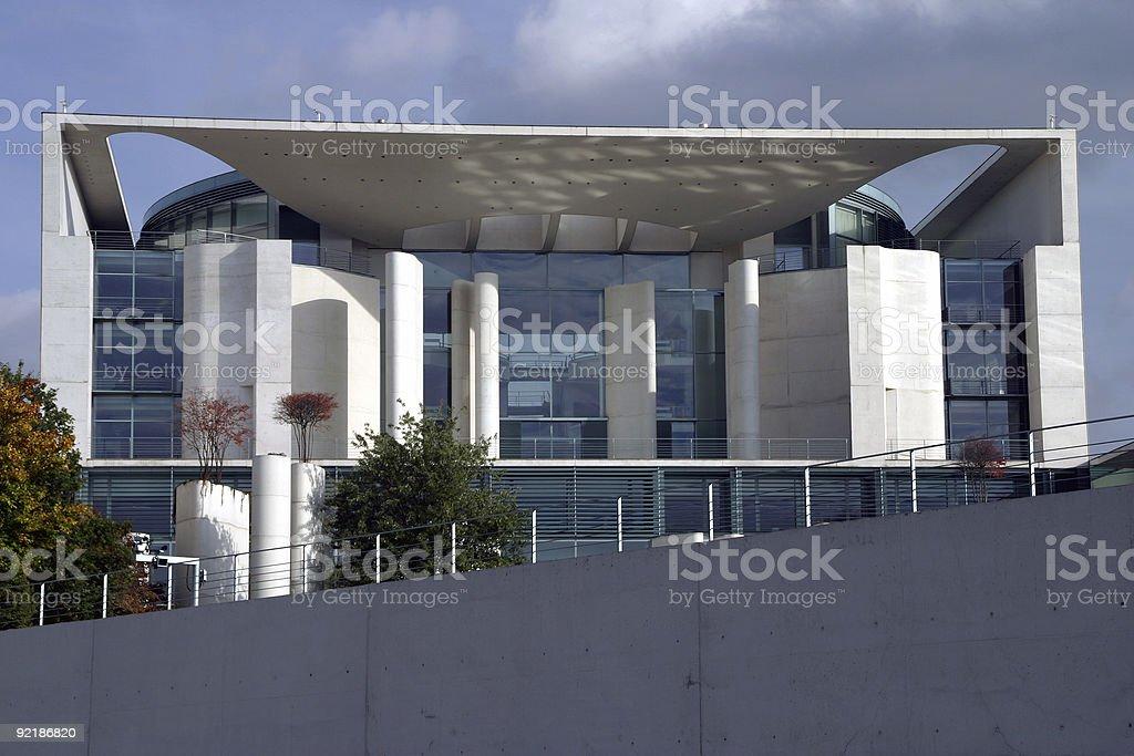 German Federal Chancellor stock photo