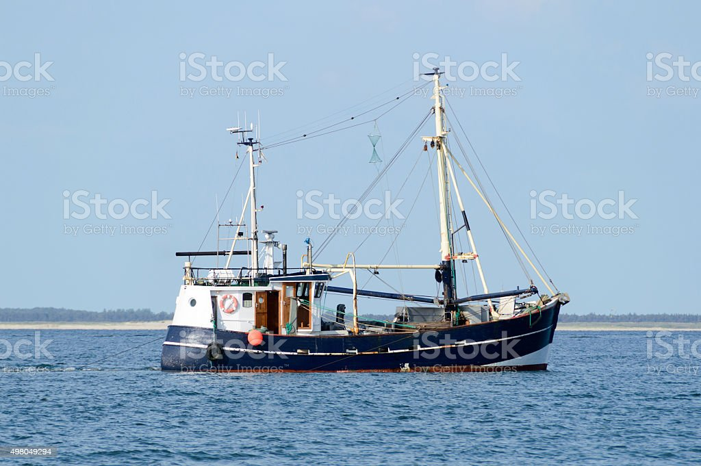 German Fish Trawler stock photo