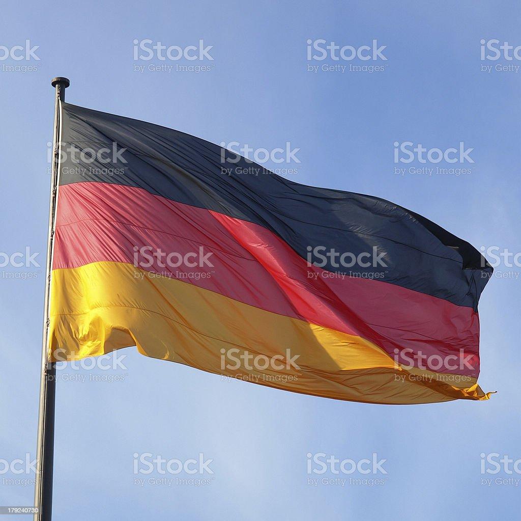 German flag royalty-free stock photo