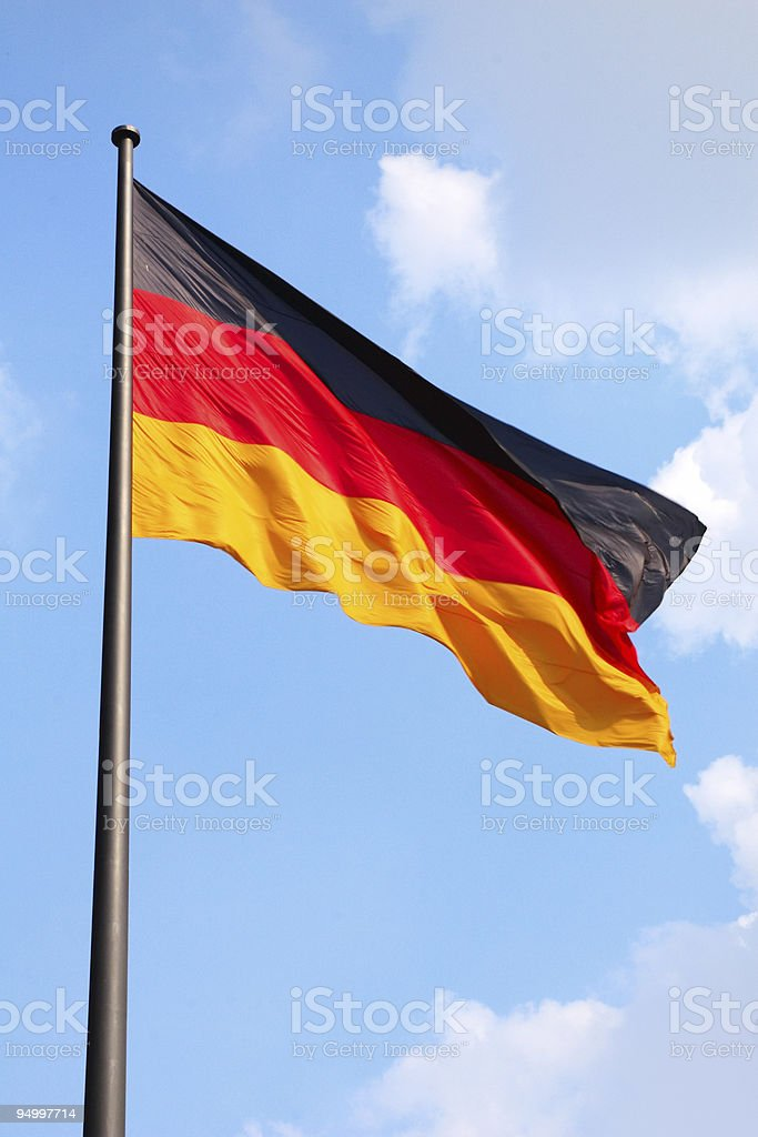 German flag stock photo