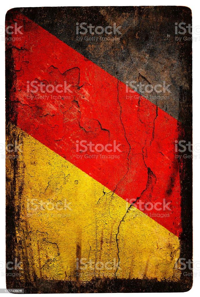 German Flag XXL royalty-free stock photo