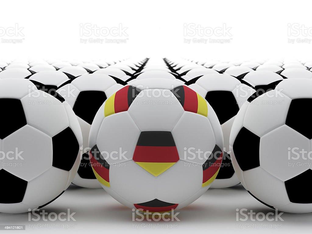 German football stock photo