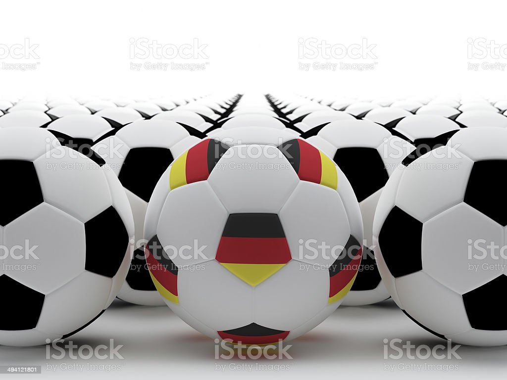 German football stock photo